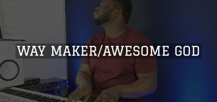 Way Maker/Awesome God: Piano Instrumental Worship Medley | DappyTKeys