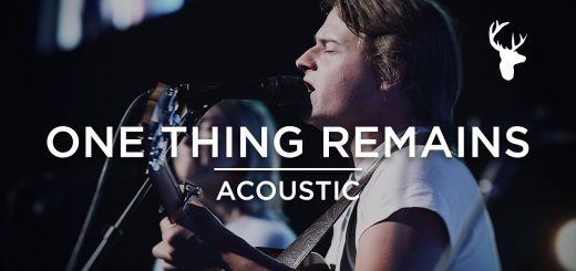 One Thing Remains + King of My Heart (Acoustic) - Noah Harrison | Moment