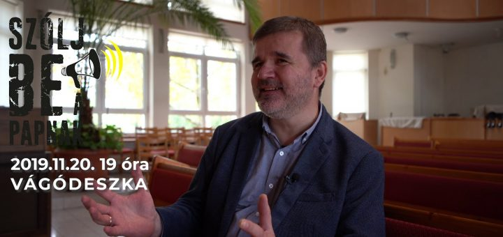 Mike Sámuel baptista lelkész bemutatása :: Szólj be a papnak