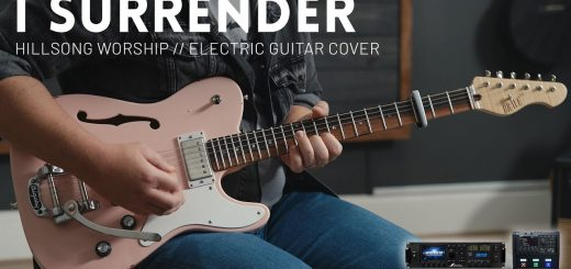 I Surrender - Hillsong Worship - Electric (lead) guitar cover // Fractal Axe-FX III & FM3 patch